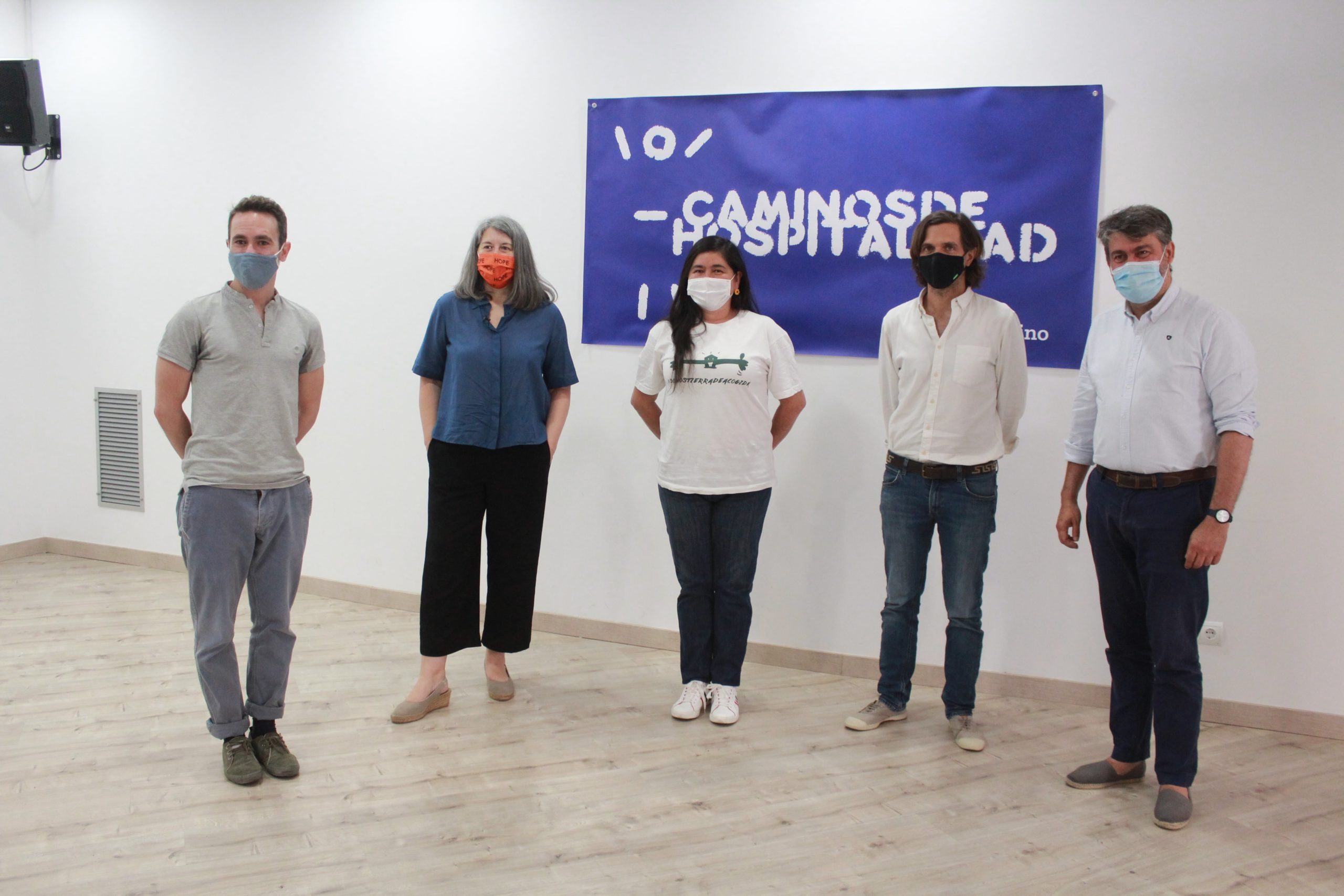 #SumoMiCamino: solidarity walks for a society of hospitality with refugees