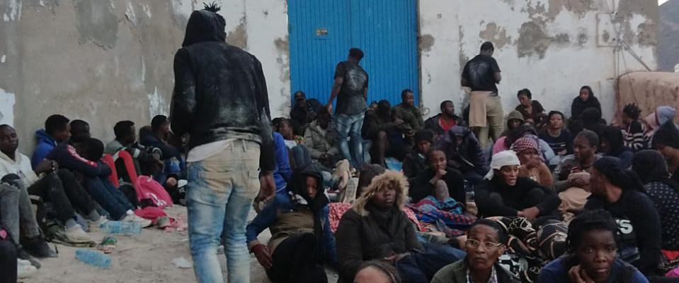 Comunicado sobre la situación de los solicitantes de asilo en Vélez de la Gomera